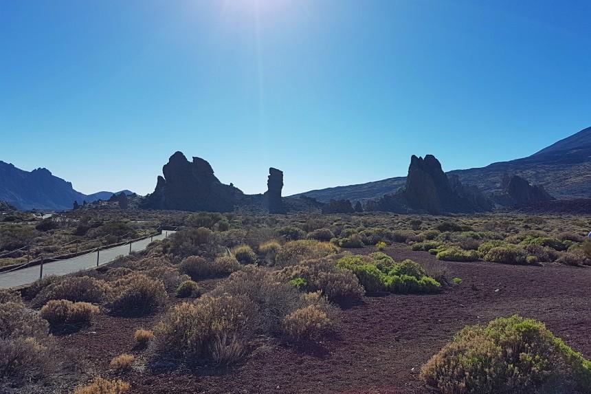 vistas desde el Parador de Cañadas del Teide