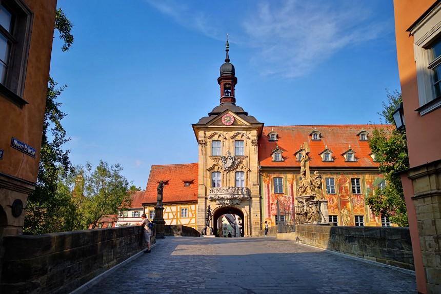 Altes Rathaus y Rottmeister desde Obere Brücke
