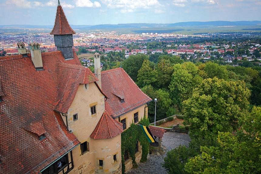 astillo de Altenburg en Bamberg