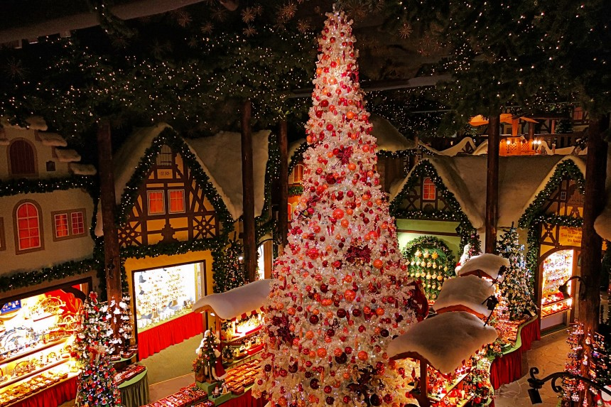 Tienda de Navidad Käthe Wohlfahrt en Rothenburg ob der Tauber
