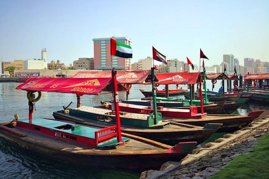 abras en Dubai Creek