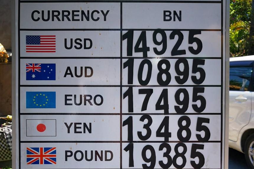 cambio euro rupia indonesia