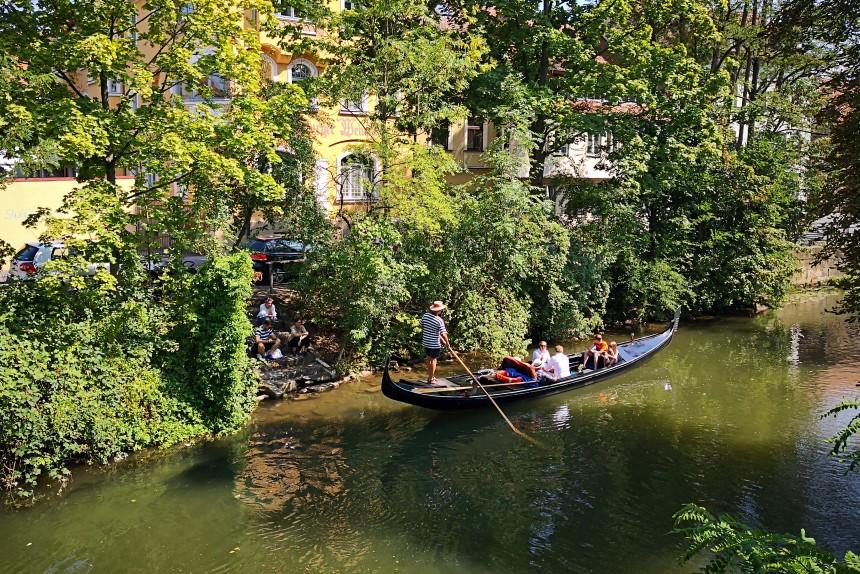 góndola en Bamberg