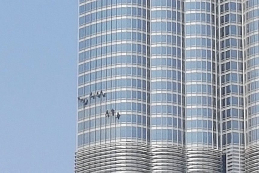 limpiacristales en Dubai