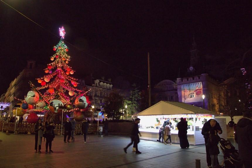 decoracion navideña en Toulouse