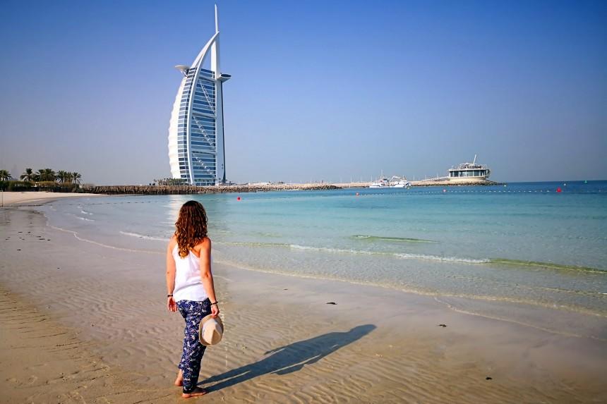 playa publica de Dubai