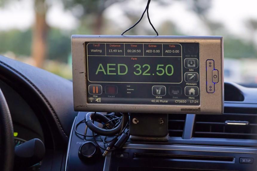 taxímetro Dubai