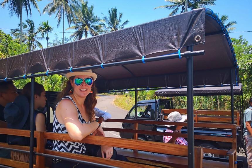 transporte en Bali