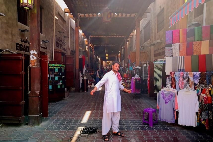 zoco de Bur Dubai