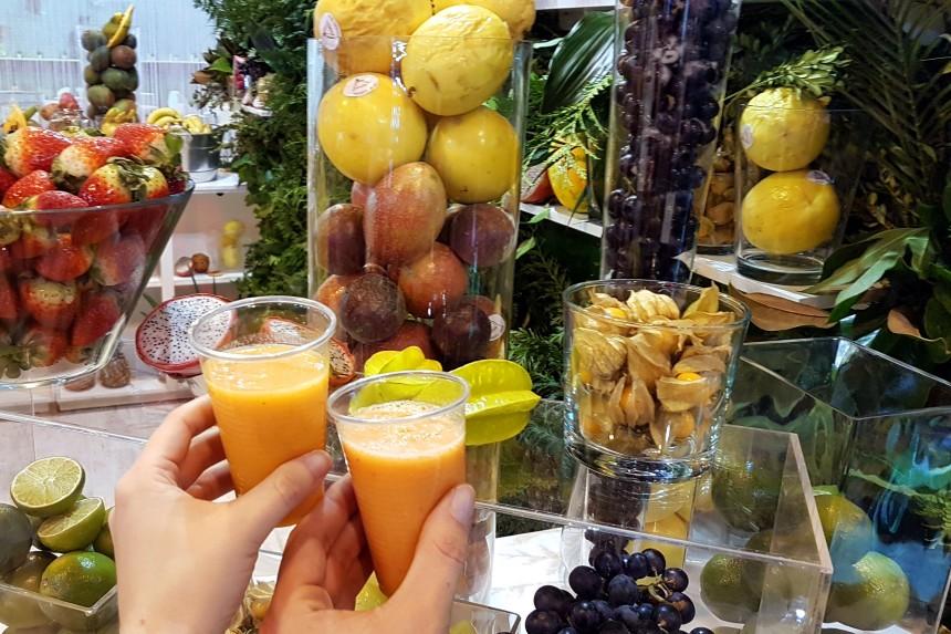 bebida y comida en FITUR