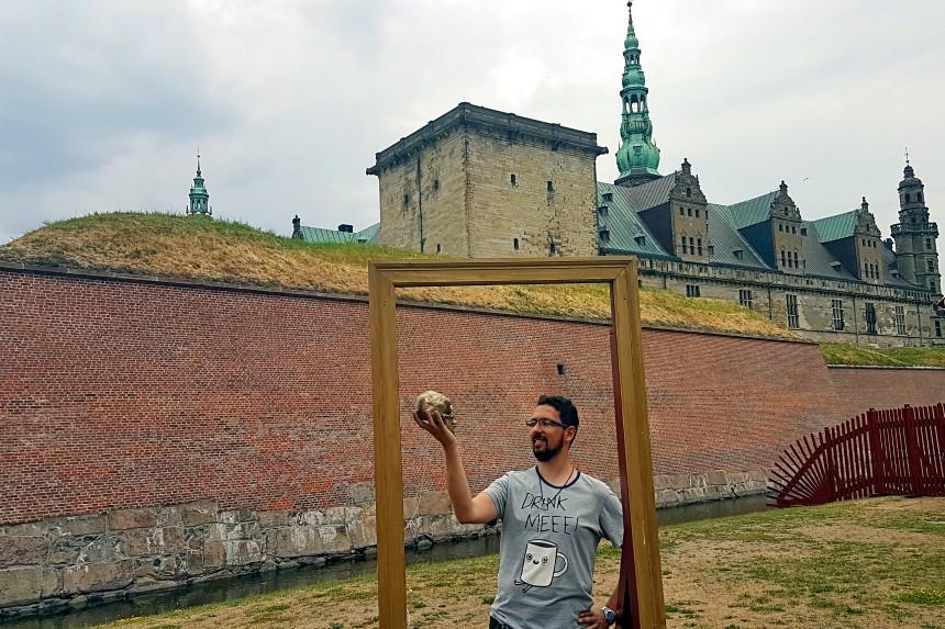 Castillo de Helsingør en Dinamarca