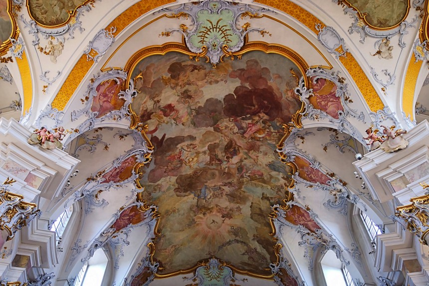 Basílica de Vierzehnheiligen en Franconia