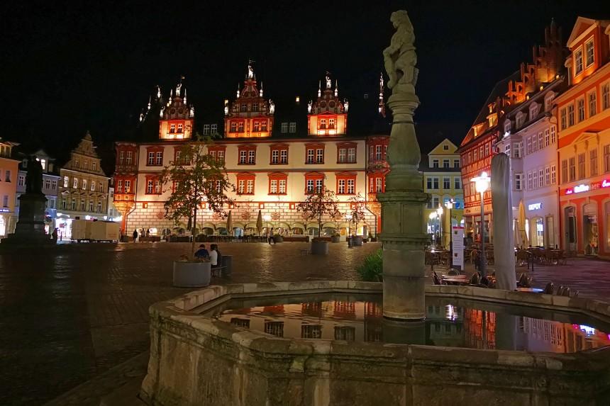 Coburgo de noche