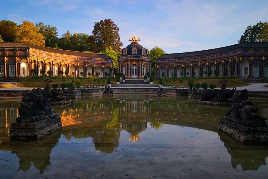 Sonnentempel, antiguo palacio de L'Ermitage en Bayreuth