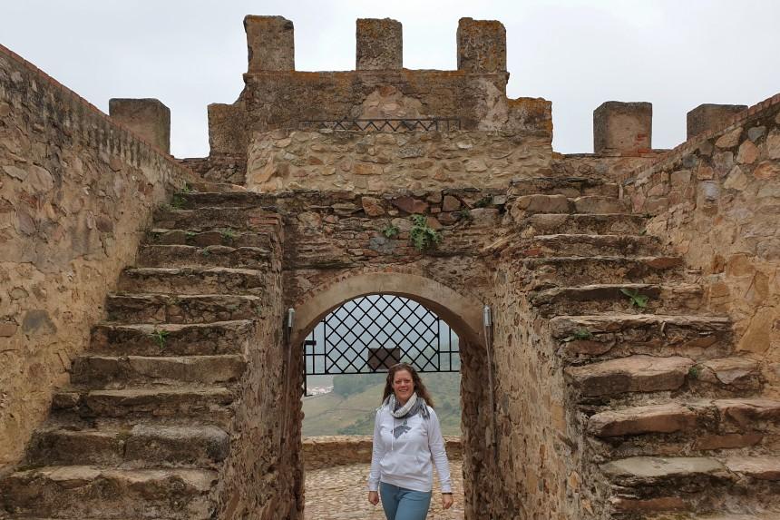 castillo de Miraflores en Alconchel