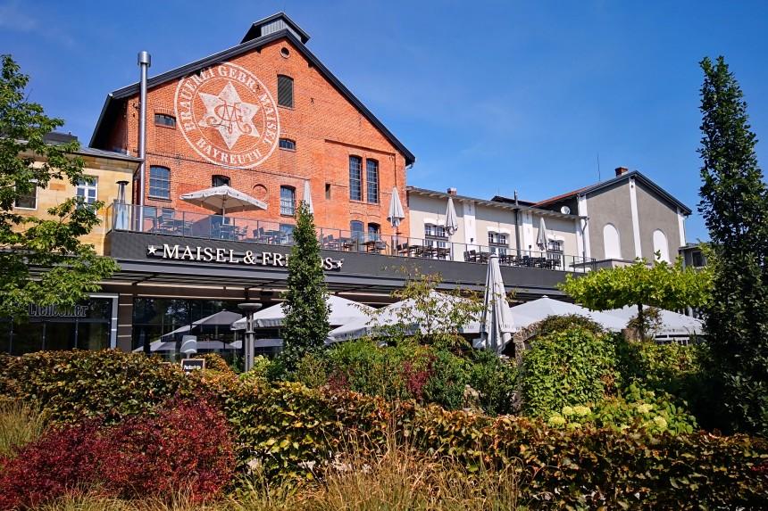 cerveceria museo Maisel's Weisse en Baireuth