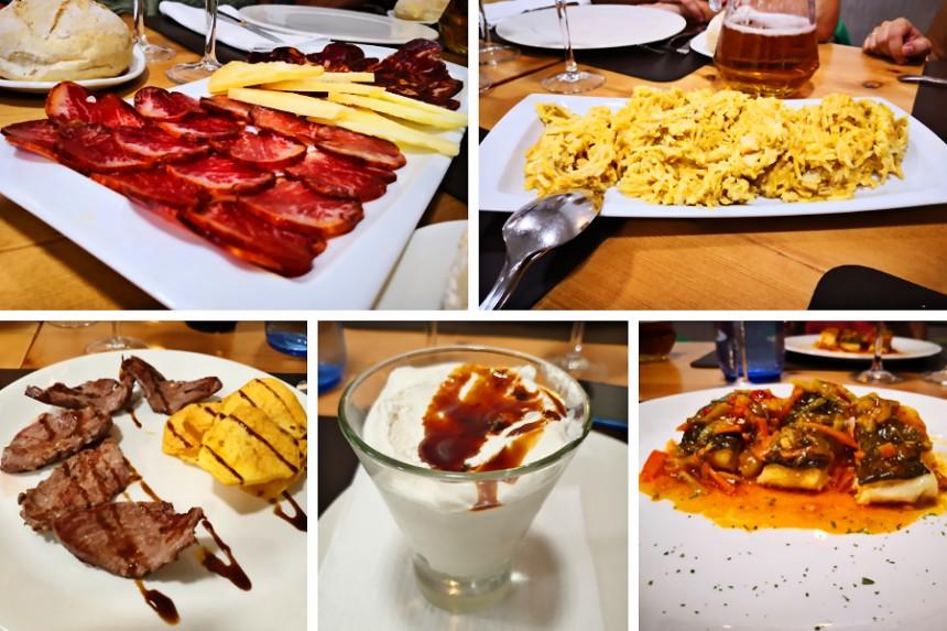 dónde comer en Olivenza