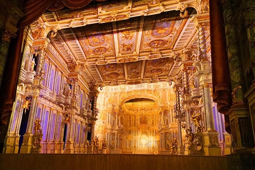 trampantojo de la Ópera del Margrave de Bayreuth