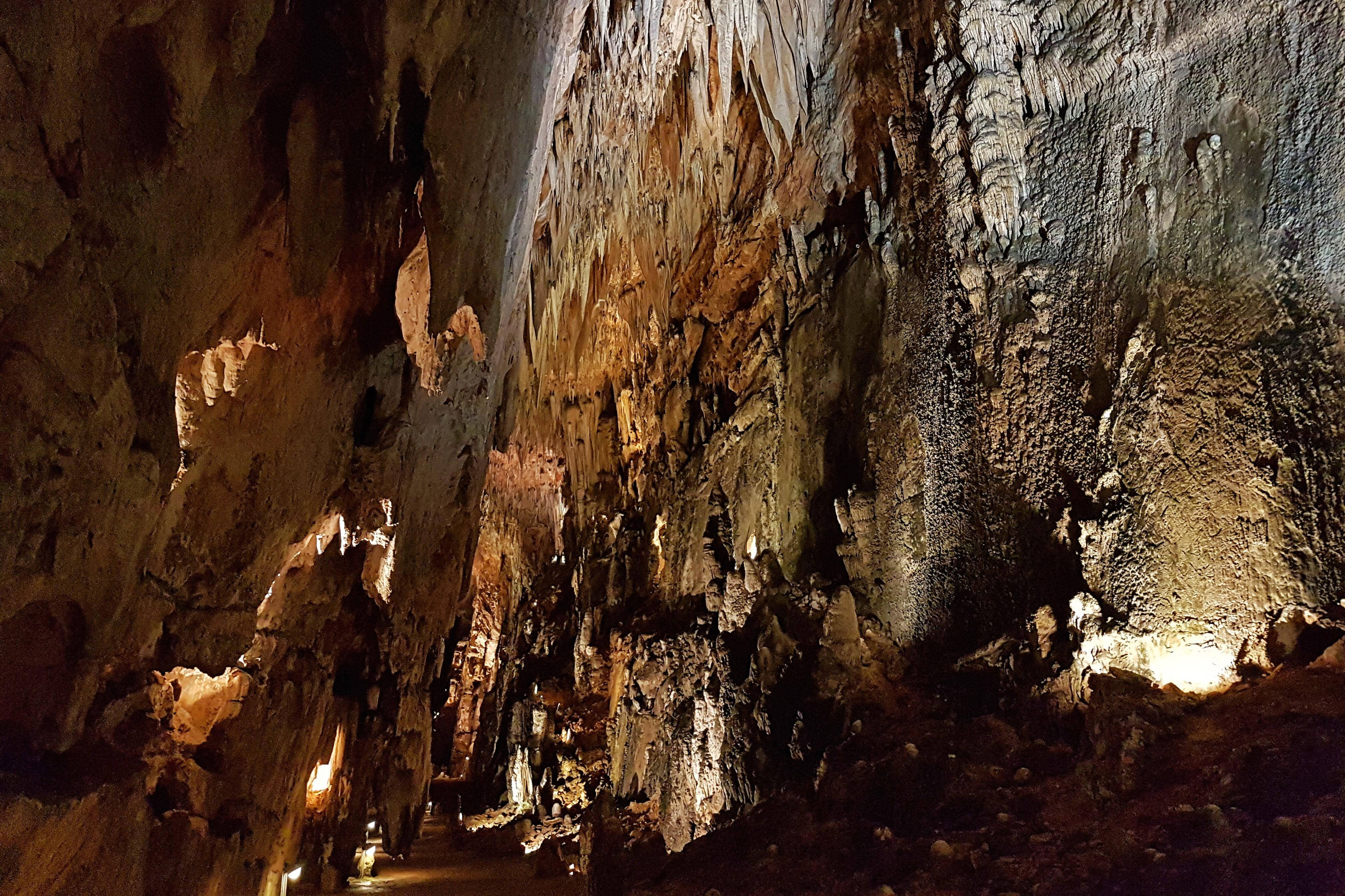 Gran Vía en la Cueva de Valporquero