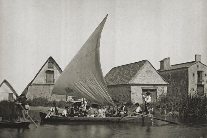 albuferencs en la Albufera de Valencia (1888)