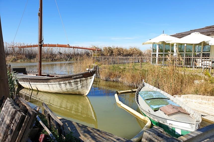 barcas en el Palmar