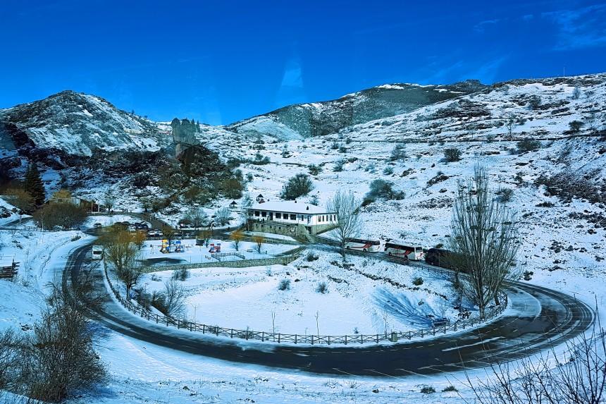 centro de visitantes de la cueva de Valporquero