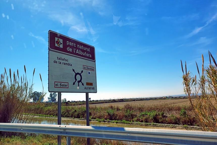 como llegar a la Albufera de Valencia