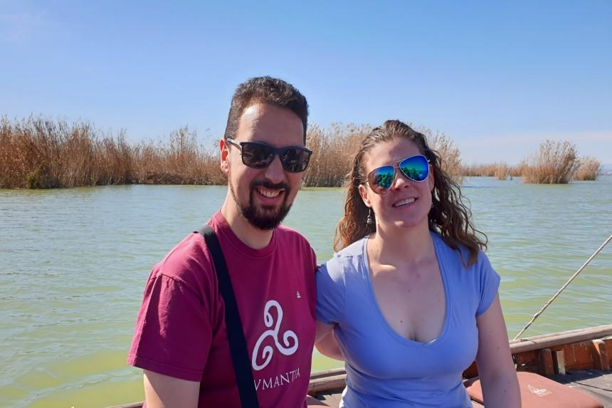 mapaymochila en la laguna de la Albufera