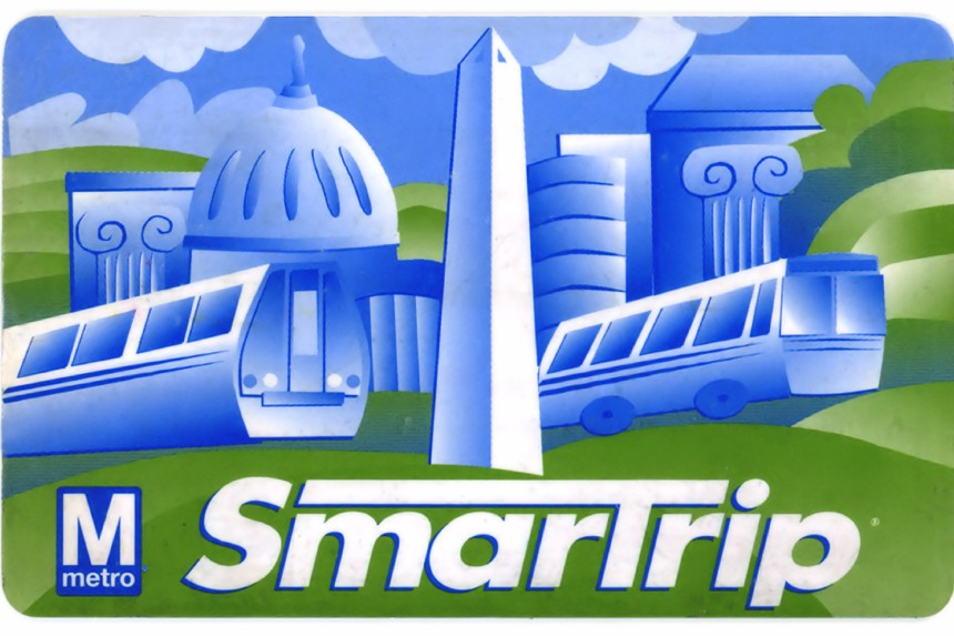 Smartrip card de Washington D. C.