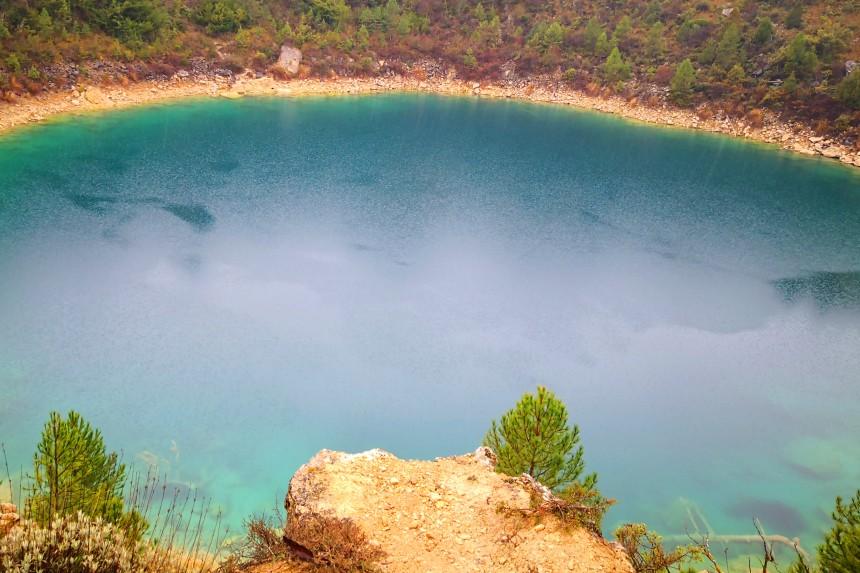 lagunas de colores en Cuenca