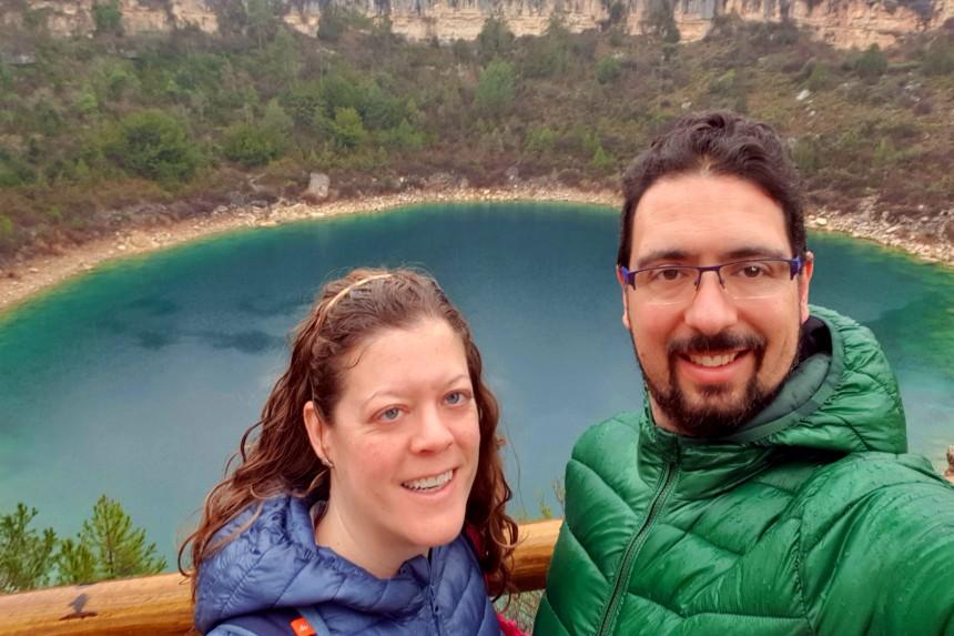mapaymochila en las Lagunas de Cañada del Hoyo