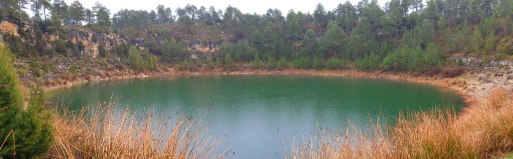 panorámica de la Laguna de la Gitana