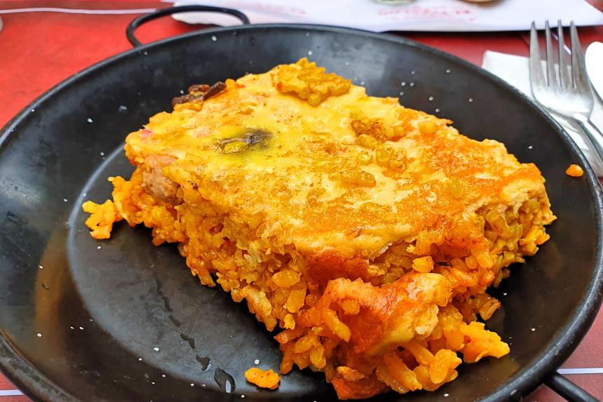 arroz con costra