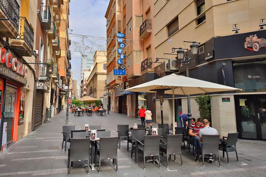 calle Castaños en Alicante