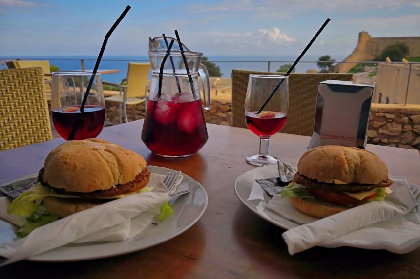 comer en Alicante, Cafetería El Castillo de Santa Barbara