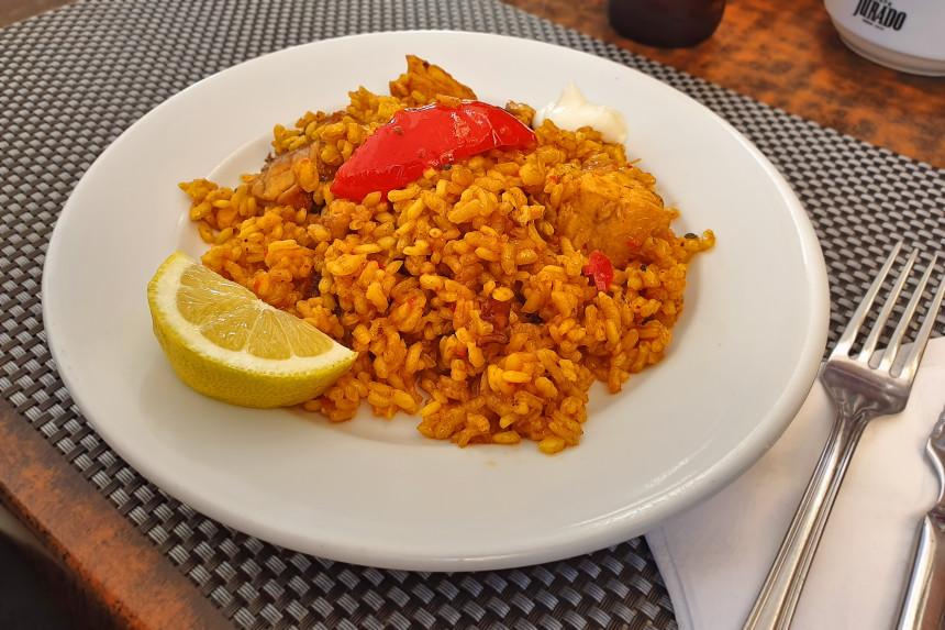 dónde comer arroz de menú en Alicante