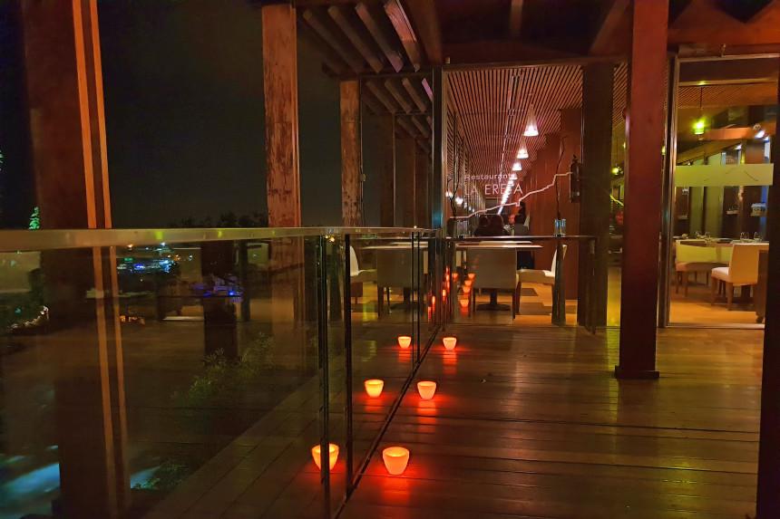 Entrada del Restaurante La Ereta en Alicante