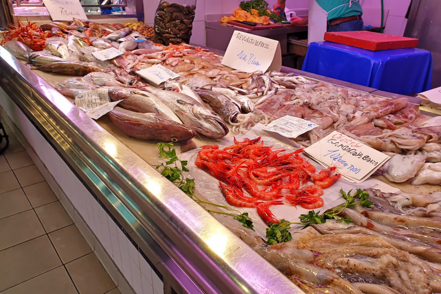 pescados y mariscos de Alicante