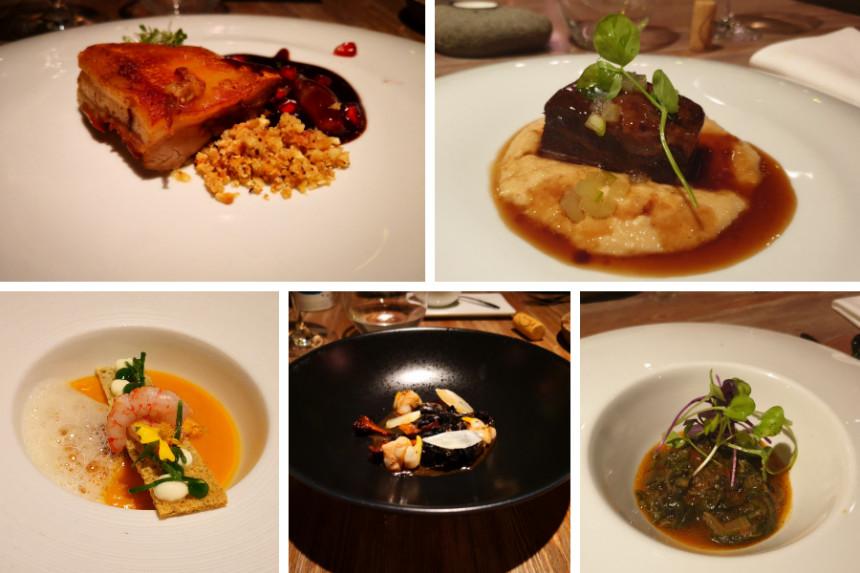 platos del restaurante la Ereta en Alicante