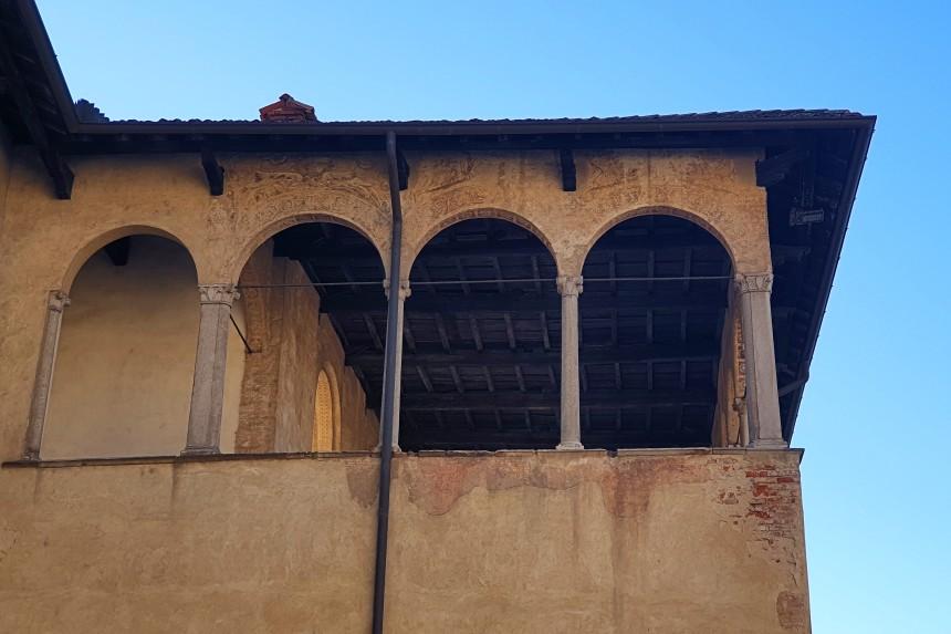 halconera del Castillo Sforzesco de Vigevano