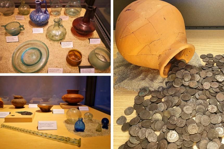 piezas del Museo Arqueológico Nacional de la Lomellina