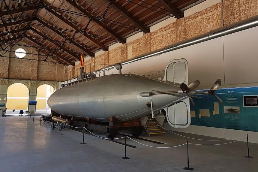 Que ver en Cartagena - Submarino Peral