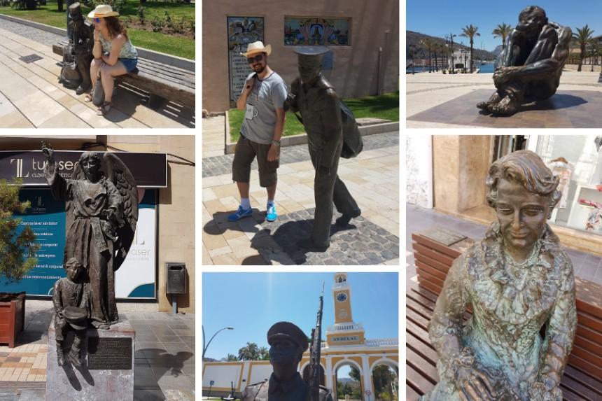 esculturas urbanas de Cartagena