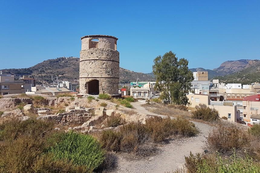 molino harinero del cerro del Molinete