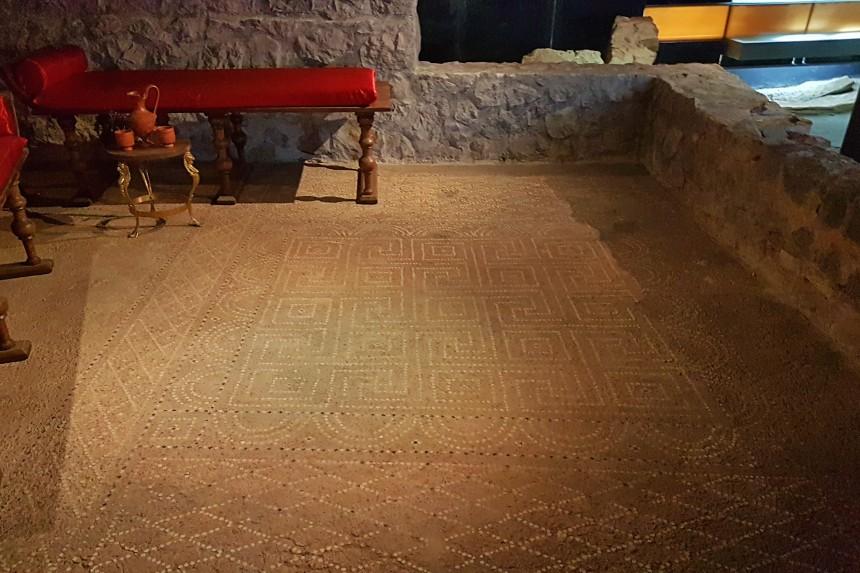 mosaico de la Casa de la Fortuna