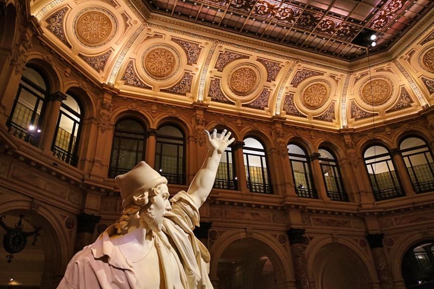 Exposición en la Galería de Italia en Milán