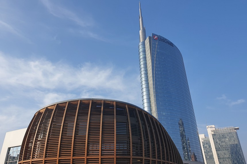 Torre Unicredit en Milán