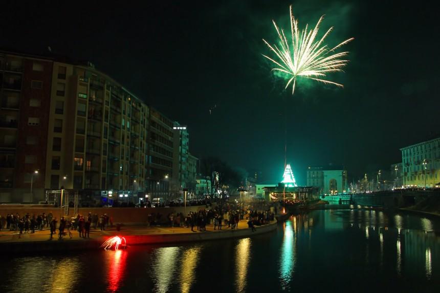 año nuevo en el Navigli