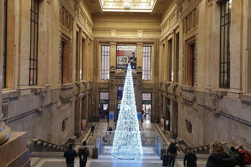 árbol navideño en Milán