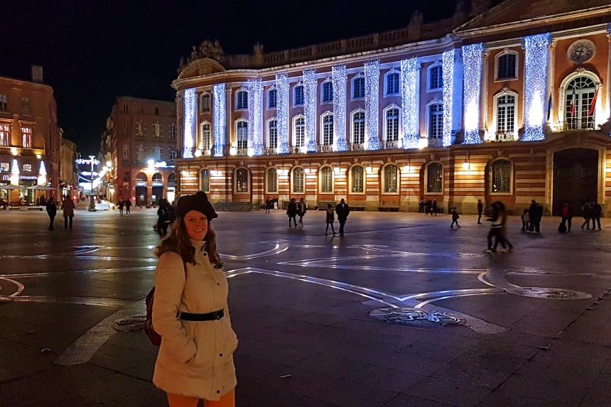 iluminación navideña en Toulouse